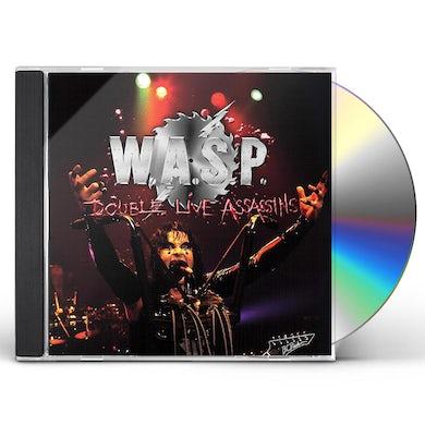 W.A.S.P Double Live Assassins CD