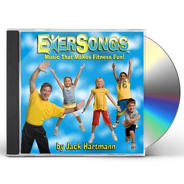 Jack Hartmann EXERSONGS CD