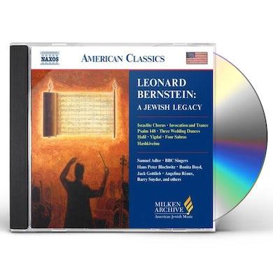 Leonard Bernstein MILKEN ARCH AMERICAN JEWISH MUSIC: JEWISH LEGACY CD