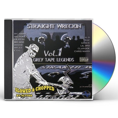 Screwed Up Click STRAIGHT WRECKIN 1: SLOWED & CHOPPED CD