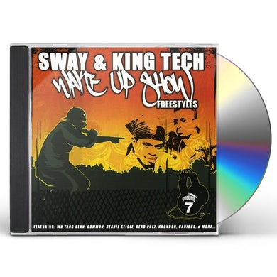 Sway & King Tech WAKE UP SHOW FREESTYLES 7 CD