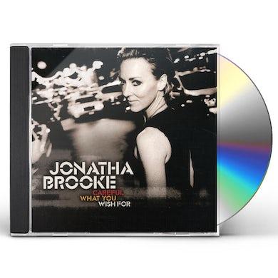 Jonatha Brooke CAREFUL WHAT YOU WISH FOR CD