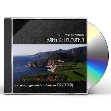 Richard DeVinck GOING TO CALIFORNIA: CLASSICAL GUITARIST'S TRIBUTE CD