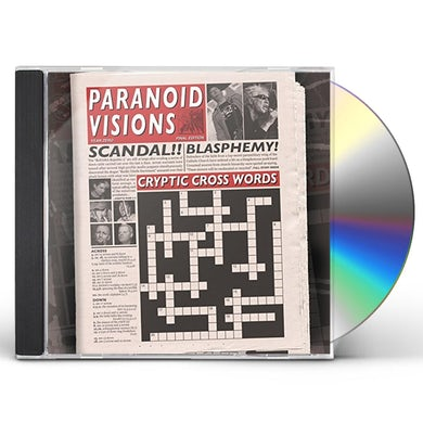 Paranoid Visions CRYPTIC CROSSWORDS CD