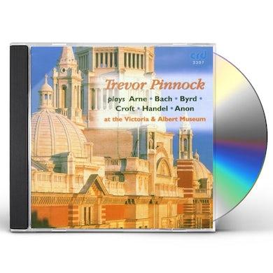 Trevor Pinnock AT THE VICTORIA & ALBERT MUSEUM CD