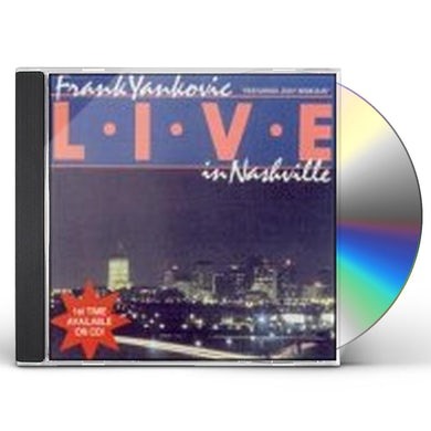 Frank Yankovic LIVE IN NASHVILLE CD