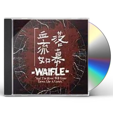 waifle BLOOD WILL COME DOWN LIKE A CURTAIN CD