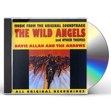 Davie Allan & Arrows WILD ANGELS & OTHER THEMES CD