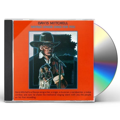 Davis Mitchell NAVAJO SINGER SINGS FOR YOU CD