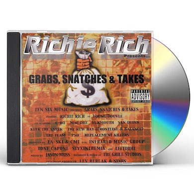 Richie Rich GRABS SNATCHES & TAKES CD