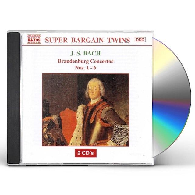 J.S. Bach BRANDENBURG CONCERTOS NOS 1-6 CD