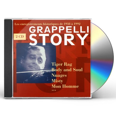 Stephane Grappelli GRAPPELLI STORY CD