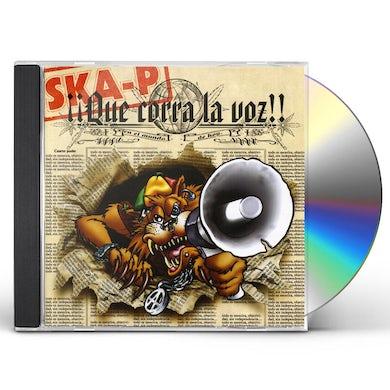 Ska-P QUE CORRA LA VOZ CD