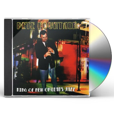 Pete Fountain KING OF NEW ORLEANS JAZZ CD