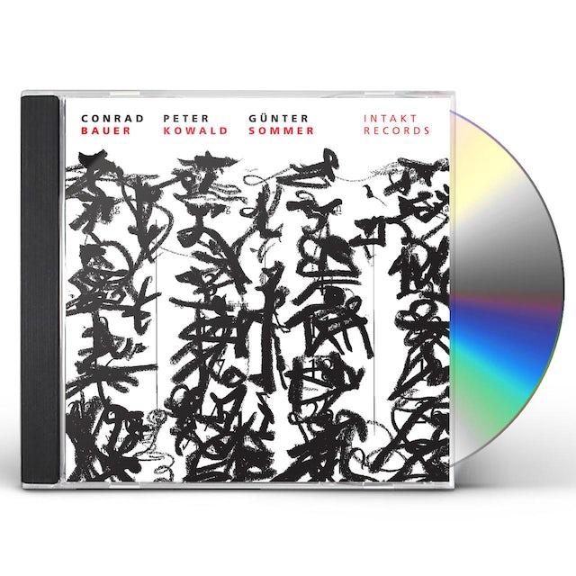 Conrad Bauer BETWEEN HEAVEN EARTH CD
