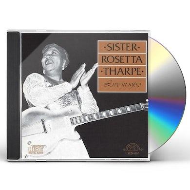 Sister Rosetta Tharpe LIVE IN 1960 CD