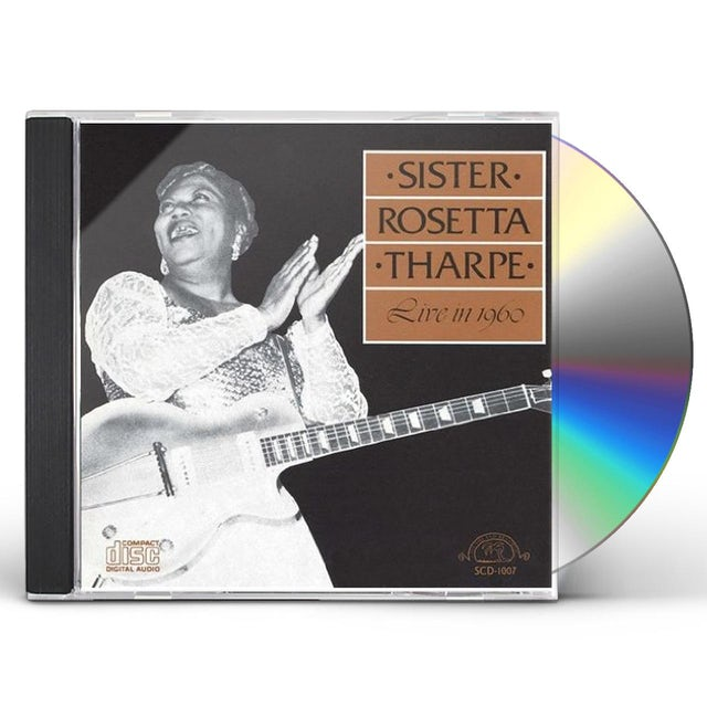 Sister Rosetta Tharpe LIVE IN 1960 CD