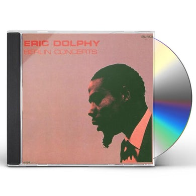 Eric Dolphy BERLIN CONCERTS CD