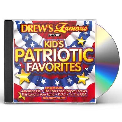Drew's Famous Kids Patriotic Favorites CD