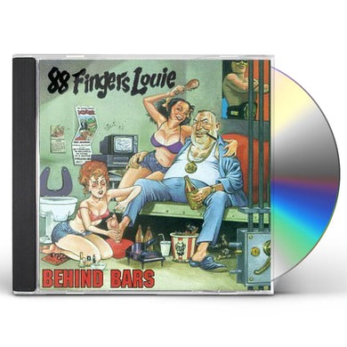 88 Fingers Louie BEHIND BARS CD