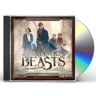 James Newton Howard FANTASTIC BEASTS & WHERE TO FIND THEM / Original Soundtrack CD