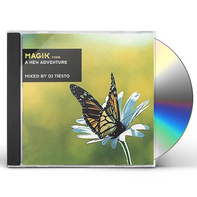 Dj Tiesto MAGIK 4: NEW ADVENTURE CD