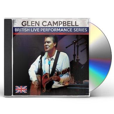 Glen Campbell BRITISH LIVE PERFORMANCE SERIES CD