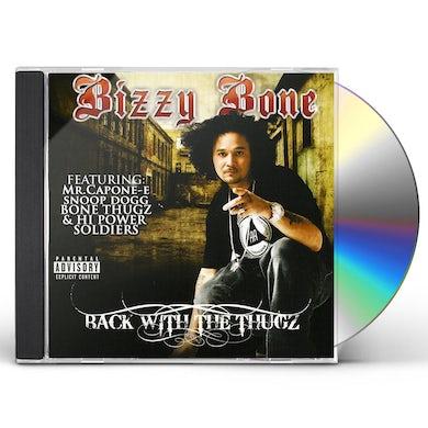Bizzy Bone BACK WITH THE THUGZ CD