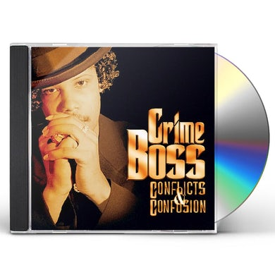 Crime Boss CONFLICTS & CONFUSION CD