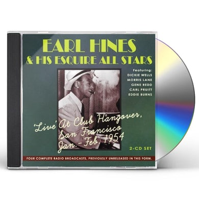 EARL HINES & HISESQUIRE ALL STARS CD