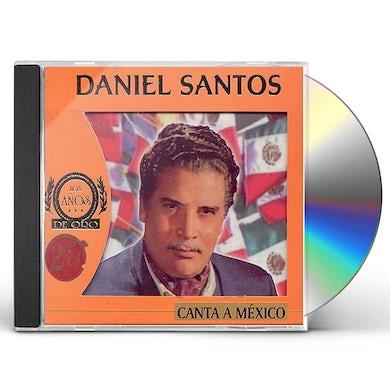 Daniel Santos CANTA A MEXICO CD
