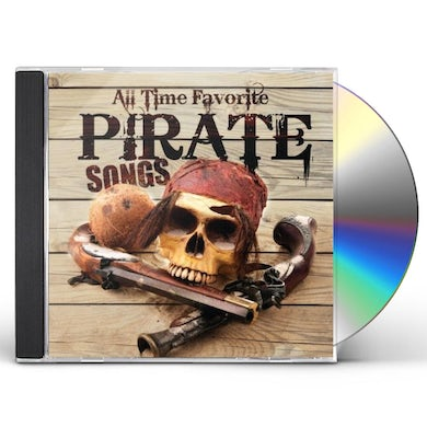 Carl Peterson ALL TIME FAVORITE PIRATE SONGS CD