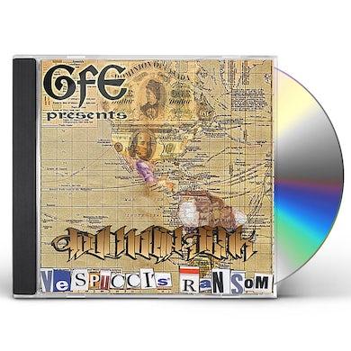 Foul Mouth Jerk VESPUCCI'S RANSOM CD
