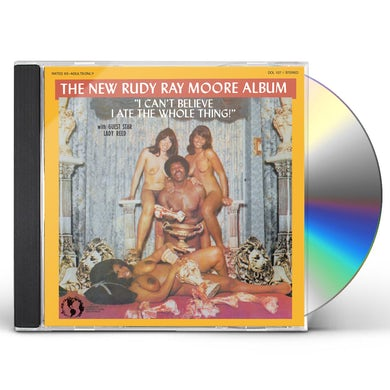 Rudy Ray Moore I Can't Believe I Ate The Whole Thing CD