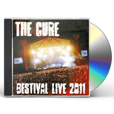 The Cure BESTIVAL LIVE 2011 CD