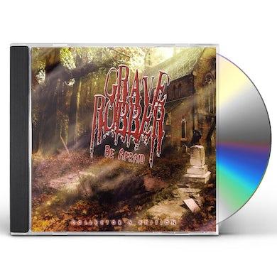 Grave Robber BE AFRAID CD