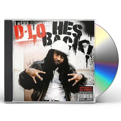 D-Lo HE'S BACK CD