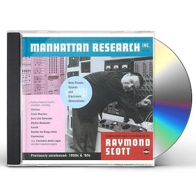 Raymond Scott MANHATTAN RESEARCH CD