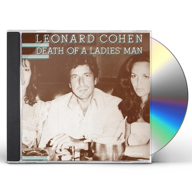 Leonard Cohen DEATH OF A LADIES MAN CD