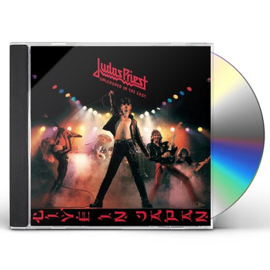 Judas Priest UNLEASHED IN THE EAST CD