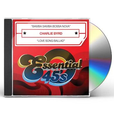Charlie Byrd BAMBA SAMBA BOSSA NOVA CD