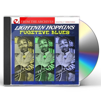 Lightnin Hopkins FUGITIVE BLUES - FROM THE ARCHIVES CD