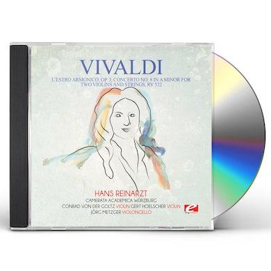 Vivaldi L'ESTRO ARMONICO OP. 3 CONCERTO NO. 8 IN A MINOR CD