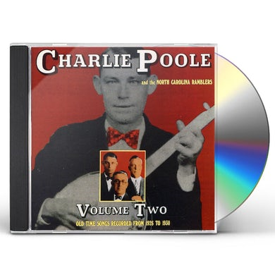 Charlie Poole OLD TIME TUNES 2 CD