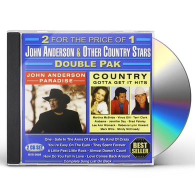 JOHN ANDERSON & OTHER COUNTRY STARS CD