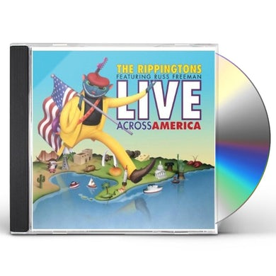 Rippingtons LIVE: ACROSS AMERICA CD