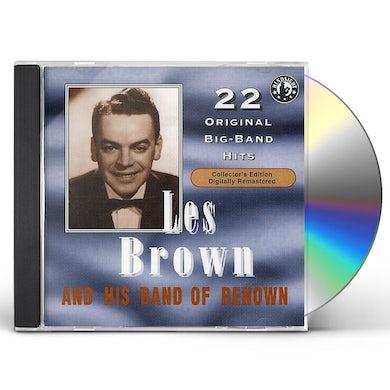 Les Brown PLAY 22 ORIGINAL BIG BAND RECORDINGS (1957) CD