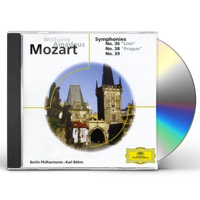 Karl Bohm MOZART: SINF. N. 36, 38 Y 39 CD