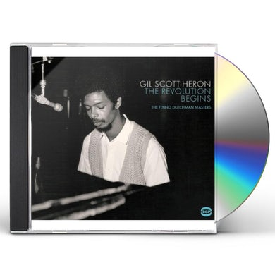 Gil Scott-Heron REVOLUTION BEGINS: FLYING DUTCHMAN MASTERS CD