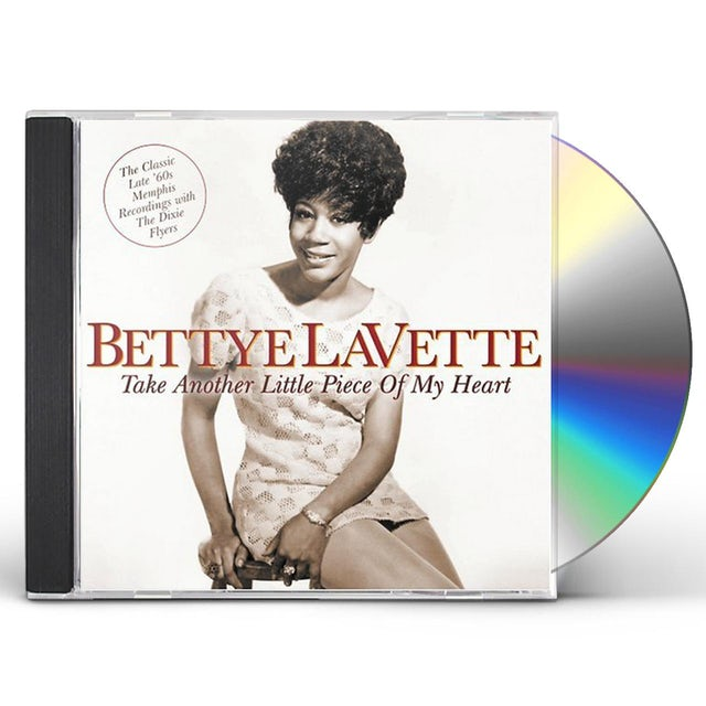 Bettye Lavette TAKE ANOTHER LITTLE PIECE OF MY HEART CD